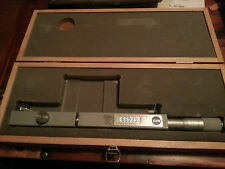 Rare Lietz Sokkisha Sokkia Mitutoyo Optical Micrometer in Wooden Case