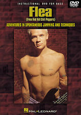 BASS GUITAR DVD FLEA Red Hot Chili Peppers Lesson ROCK CHAD SMITH TUTOR MUSIC