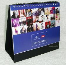 Lady Gaga Eminem Justin Bieber RIHANNA Madonna Taiwan Promo 2014-year Calendar