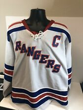 New York Rangers Reebok Jersey Authentic Fight Strap Callahan Size 52