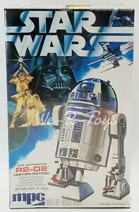 "Star Wars R2-D2 Scale Model Kit 1977 MPC 5"" Tall General Mills 1-1912 Sealed"