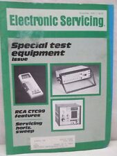 Electronic Servicing Magazine November 1979 Special Test Equipment issue