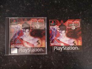 Tekken 3 PS1 Game Sony PlayStation 1 PAL - COMPLETE