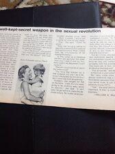 N1-8 Ephemera 1971 Article Romy Schneider And Son David