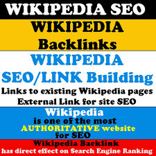 SEO Add your website-blog link to WIKIPEDIA as Backlinks for website SEO Traffic