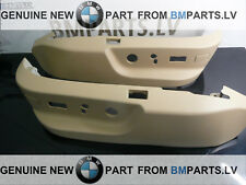 NEW GENUINE BMW E39 E38 SEAT SWITCH COVERING SANDBEIGE SET 52107058011