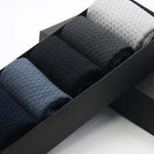 5 Pairs Mens Bamboo Fiber Breatheable Socks Anti-Bacterial Deodorant Long Socks