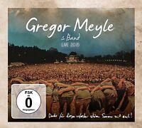 GREGOR MEYLE - LIVE 2015  CD + DVD NEU
