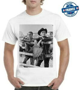 Tee-shirt Steeve MC Queen  Yul Brynner Western Top qualité 2021