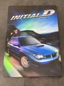 INITIAL D LE FILM DVD COLLECTOR TF1 VIDEO FRANCE RARE