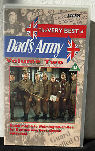 The Very Best of Dads Army Volume 2 BBC 5 Classic Episodes VHS Video Tape 1994