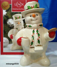 Lenox 2016 Holiday Cup of Cheer Annual Snowman Figurine New in Box