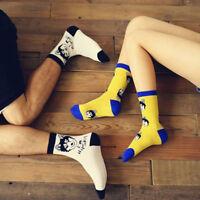 Fashion Unisex Husky Dog Animal Socks For Women Men Couple Warm Cotton Socks