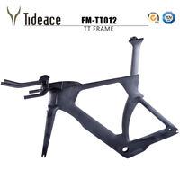Triathlon Time Trial Full Carbon Fiber Road Racing TT Frame Fork Seatpost OEM