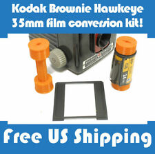 35mm to 620 Kodak Brownie Hawkeye Flash Film Spool Adapter Conversion Kit (4pcs)