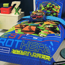 Teenage Mutant Ninja Turtles TMNT Tech This Out Single Bed Quilt Doona Cover Set
