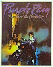 Original Vintage Prince Purple Rain Album Cover Iron On Transfer Music Band