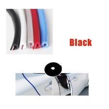 Black Universal Car Window Door Edge Protect Rubber Seal Trim Molding Strip 5m