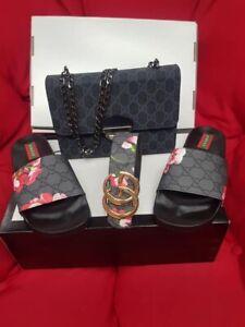 womens gucci Bag Belt And Shoes