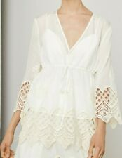BCBG MAXAZRIA XS Off White 34 Sleeve