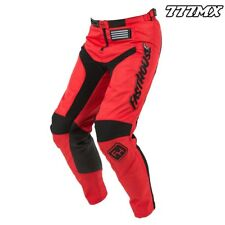 "2018 FASTHOUSE GRINDHOUSE MOTOCROSS MX PANTS RED 32"" WAIST *IN STOCK*"