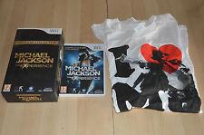 jeu Nintendo Wii : Michael Jackson - Edition collector / Jeu + Tshirt