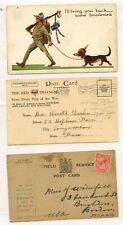 Wwi Ww1 Aef Postcard Letter Lot I Have Arrived communications Bef Also Lot