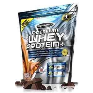 MUSCLETECH 100% Premium Whey Protein + 6lbs (2.7kg) FREE SHIPPING