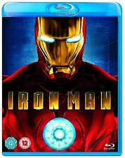 Iron Man Blu-ray Robert Downey Jr, Jeff Bridges Brand New Sealed