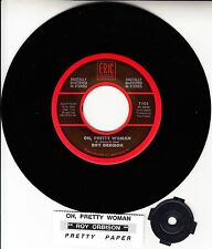 "ROY ORBISON Oh, Pretty Woman & Pretty Paper  7"" 45 record NEW + juke box strip"