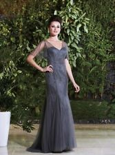 Woman's Formal Black Couture Dress