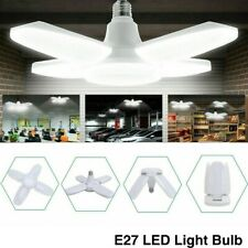 4PCS 60W E27 LED Garage Shop Work Lights Home Ceiling Fixture Deformable Lamp