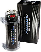 AUTOTEK ATX1200 1.2 Farad KONDENSATOR / POWER CAP für ENDSTUFE LED Anzeige ATX