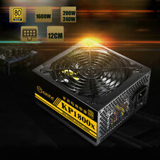 1800 W ALIMENTATORE POWER SUPPLY PER GPU ETHEREUM RIG MINING MINER MACCHINA BTC