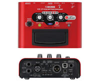 Boss VE-2 VE 2 Battery-powered Portable Vocal Processor New