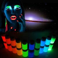 Magic Glow in the Dark Pigment Painting DIY Acrylic Luminous Bright Paint Party
