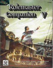 Rolemaster - Companion V RPG