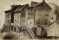 CHET LaMORE - Original Wash Drawing