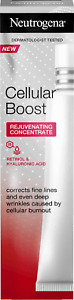 Genuine Neutrogena Cellular Boost Rejuvenating Concentrate face Serum 30 ml NEW