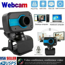 Full HD Webcam With Microphone HD Video Camera USB For PC Desktop Laptop Mic USA