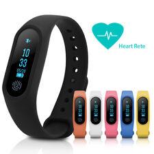 Smart Orologio Bracciale Pressione sanguigna Frequenza cardiaca per Android/iOS