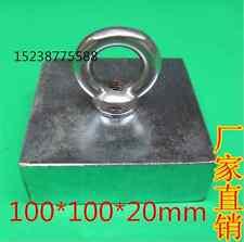 Super Powerful 1pcs Bulk big Round NdFeB Neodymium Square Magnets N52 !D100X20mm