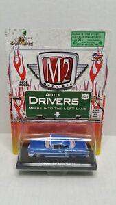 Rare M2 Machines Auto-Drivers 1958 Chevrolet Impala 348 Blue Chase 1 Of 500