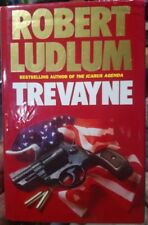 Trevayne By Robert Ludlum (1989) HCDJ