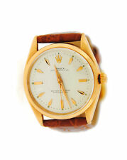 Rolex Oyster Perpetual Chronometer 18K Rose Gold Watch 6564 Cal 1030 Circa 1950