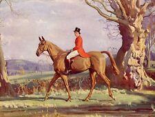 Munnings, Principe di Galles su Strega della Foresta 1930 S Cavallo Stampa in Monte SUPERBA