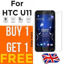 100% Genuine Tempered Glass Ultra HD Screen Protector Protection For HTC U11