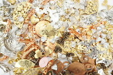 Assorted Lot of Limited Old Stock Acrylic Fashion Jewelry/Findings/Hairpin 1lb