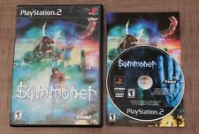 Summoner Sony PlayStation 2 2000 CIB Complete PS2 Tested Video Game Cleaned