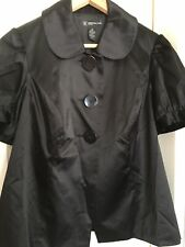 International Concepts(l.N.C)Womens Black Blouse Size OX Fits Uk16/18